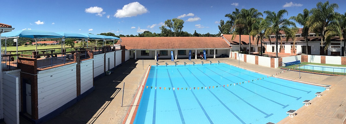 School Pool from viewing balcony